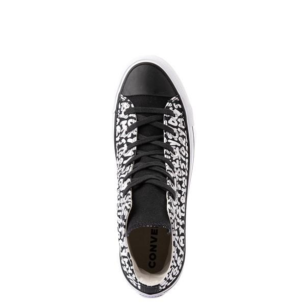 alternate view Womens Converse Chuck Taylor All Star Hi My Story Platform Sneaker - BlackALT4B
