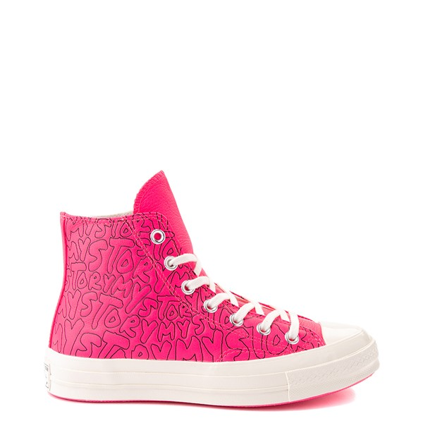 Main view of Converse Chuck 70 Hi My Story Sneaker - Hyper Pink