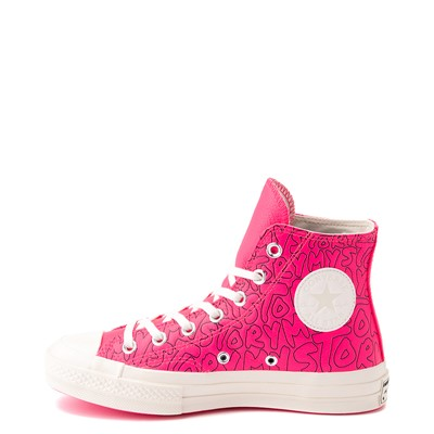 Alternate view of Converse Chuck 70 Hi My Story Sneaker - Hyper Pink