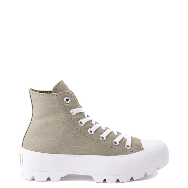 Womens Converse Chuck Taylor All Star Hi Lugged Sneaker - Light Field Surplus