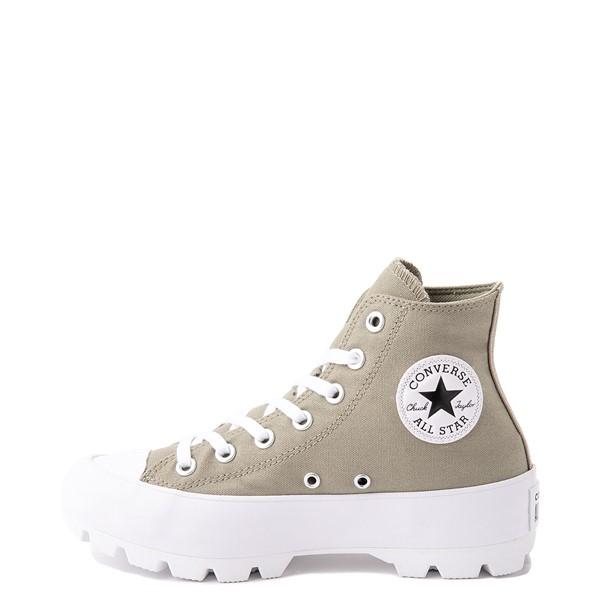 alternate view Womens Converse Chuck Taylor All Star Hi Lugged Sneaker - Light Field SurplusALT1