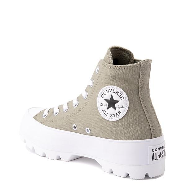 alternate view Womens Converse Chuck Taylor All Star Hi Lugged Sneaker - Light Field SurplusALT2