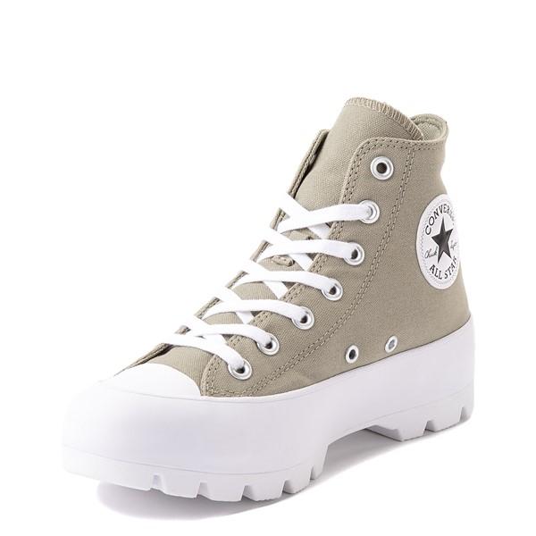 alternate view Womens Converse Chuck Taylor All Star Hi Lugged Sneaker - Light Field SurplusALT3