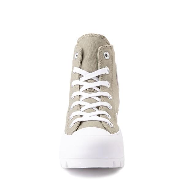 alternate view Womens Converse Chuck Taylor All Star Hi Lugged Sneaker - Light Field SurplusALT4