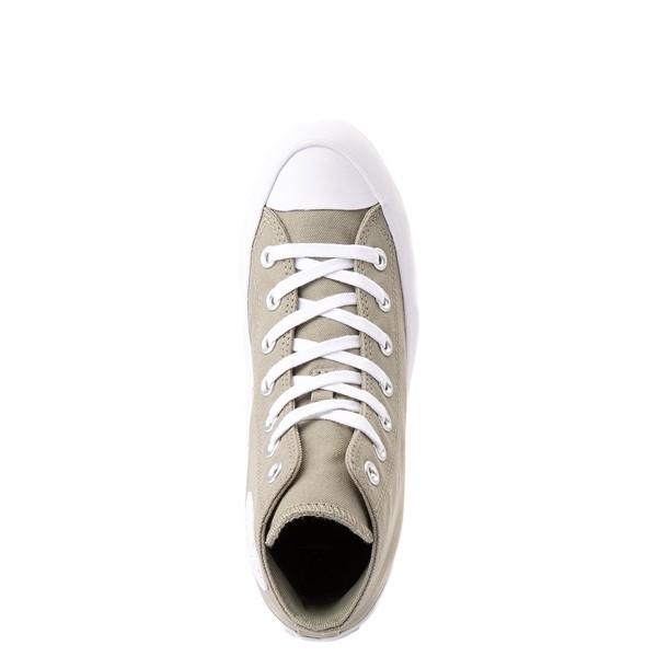 alternate view Womens Converse Chuck Taylor All Star Hi Lugged Sneaker - Light Field SurplusALT4B
