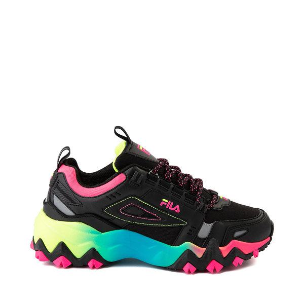 Main view of Womens Fila Oakmont TR Athletic Shoe - Black / Multicolor
