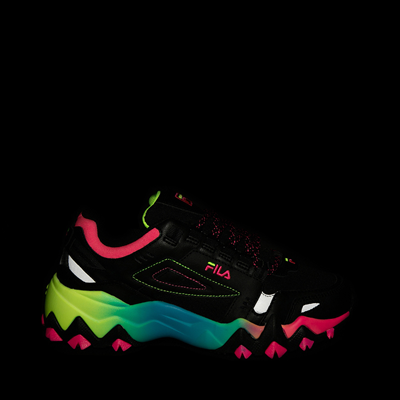Alternate view of Womens Fila Oakmont TR Athletic Shoe - Black / Multicolor