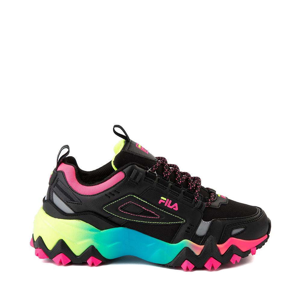 Womens Fila Oakmont TR Athletic Shoe - Black / Multicolor