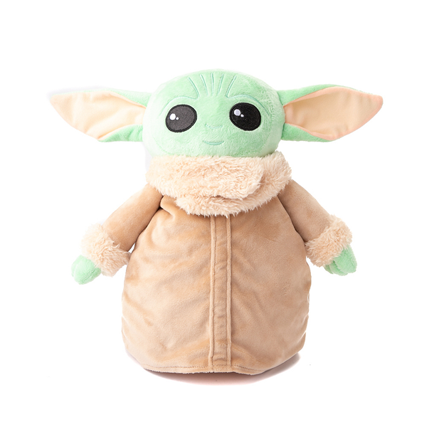 Main view of Baby Yoda Plush Backpack - Green