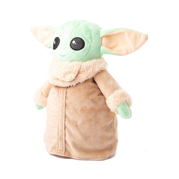 alternate view Baby Yoda Plush Backpack - GreenALT4