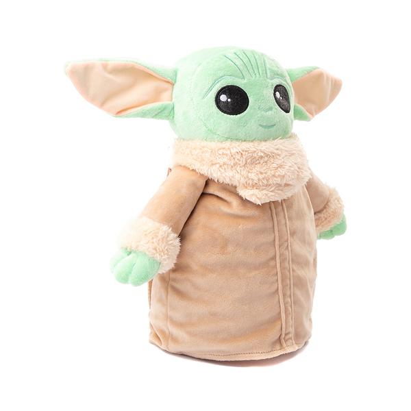 alternate view Baby Yoda Plush Backpack - GreenALT4B