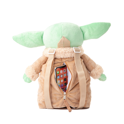 Alternate view of Baby Yoda Plush Backpack - Green