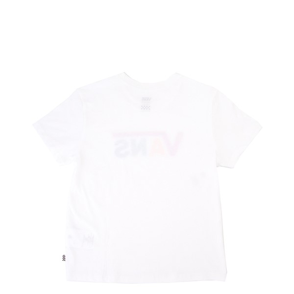 alternate view Vans Flying V Crew Tee - Little Kid / Big Kid - White / MulticolorALT1
