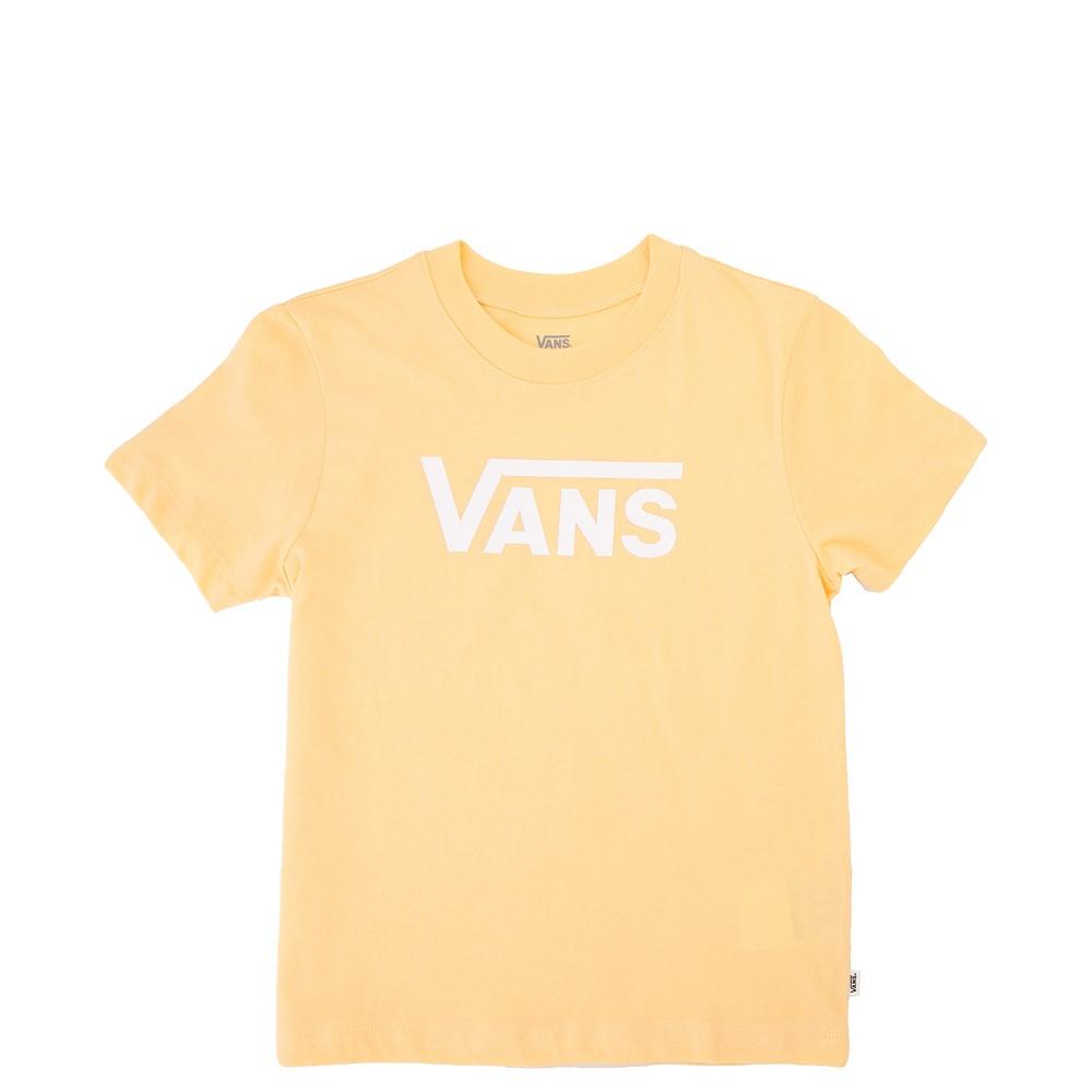 Vans Flying V Crew Tee - Little Kid / Big Kid - Golden Haze