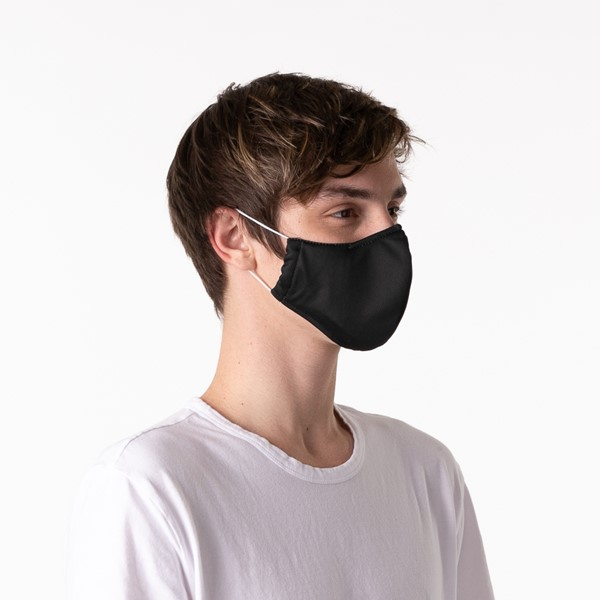 alternate view Herschel Supply Co. Classic Fitted Face Mask - BlackALT4