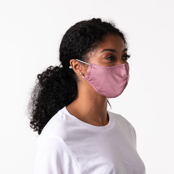alternate view Herschel Supply Co. Classic Fitted Face Mask - Ash RoseALT4