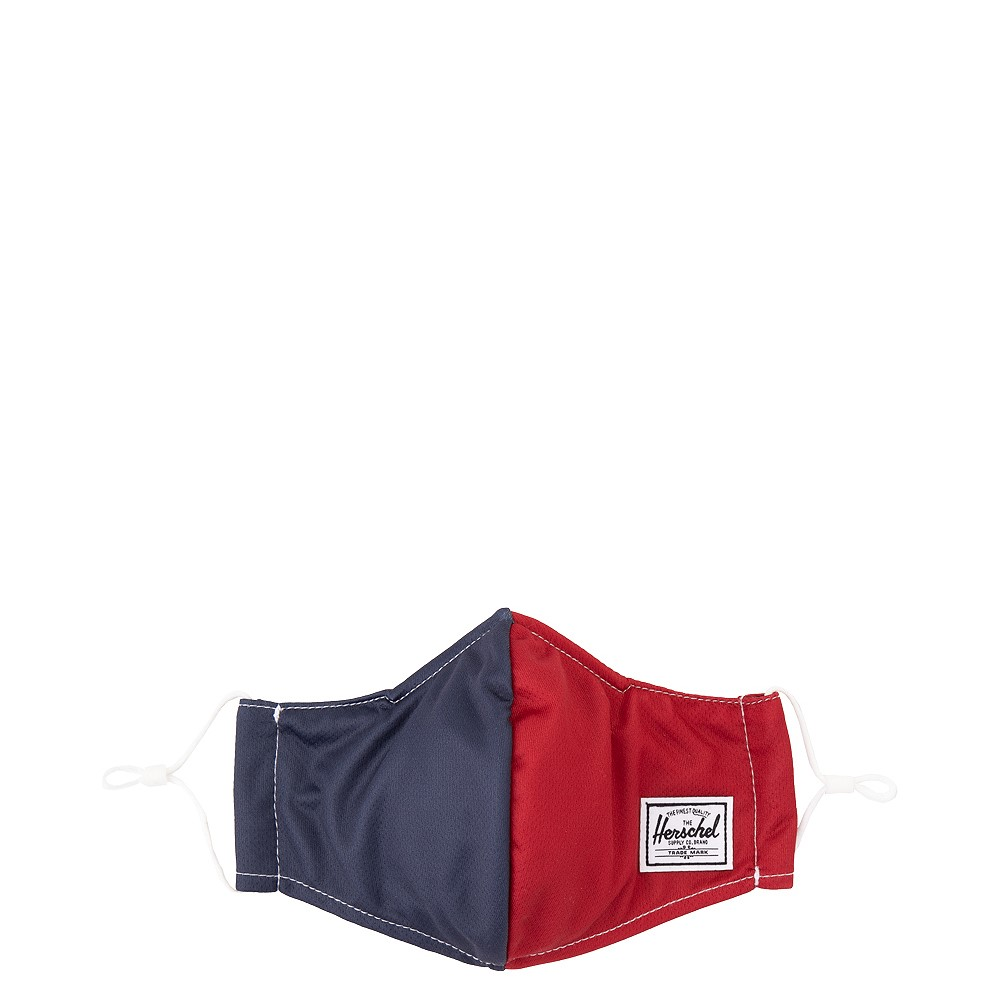 Herschel Supply Co. Classic Fitted Face Mask - Navy / Red