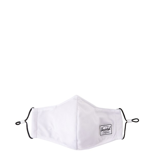 Main view of Herschel Supply Co. Classic Fitted Face Mask - White
