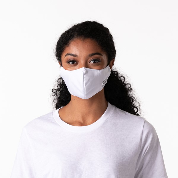 alternate view Herschel Supply Co. Classic Fitted Face Mask - WhiteALT1