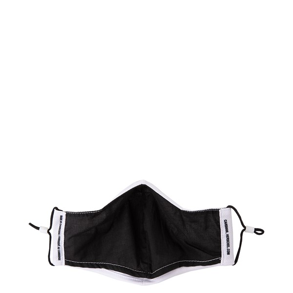 alternate view Herschel Supply Co. Classic Fitted Face Mask - WhiteALT2