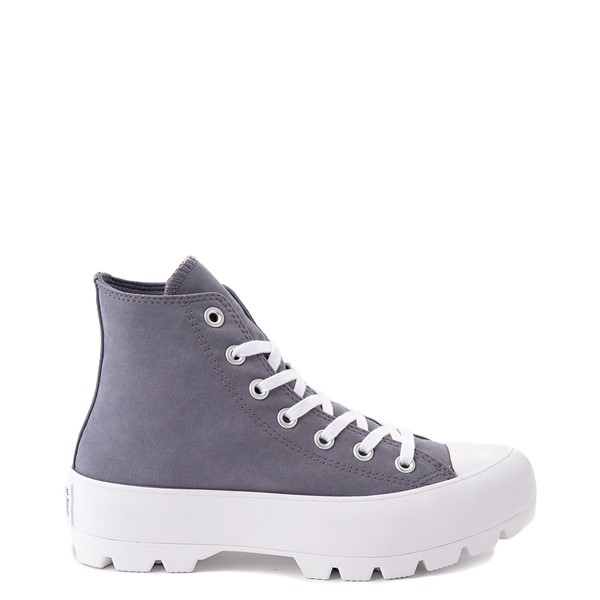 Womens Converse Chuck Taylor All Star Hi Lugged Sneaker - Light Carbon