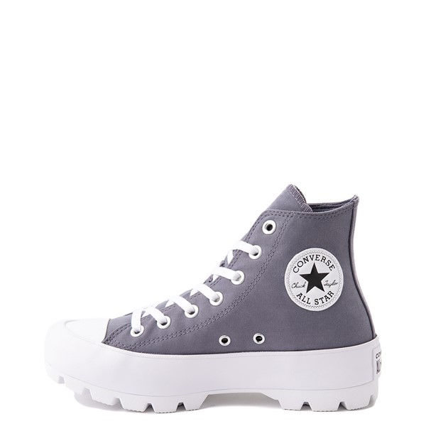 alternate view Womens Converse Chuck Taylor All Star Hi Lugged Sneaker - Light CarbonALT1