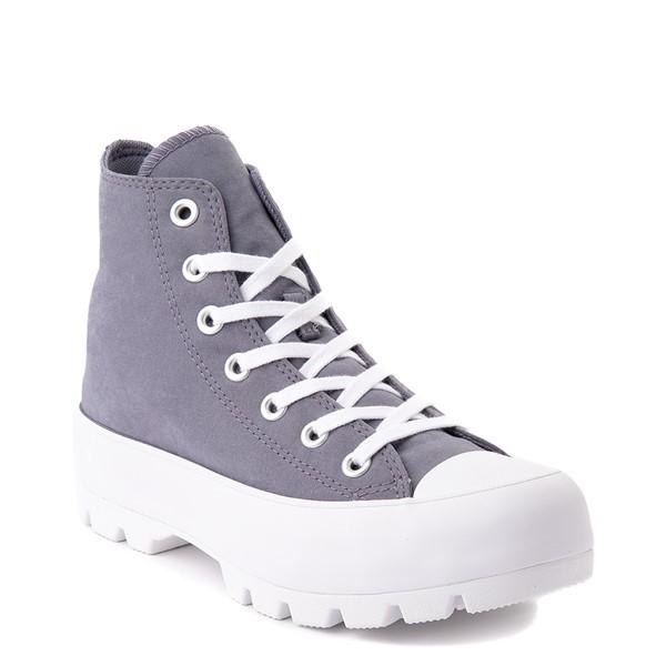 alternate view Womens Converse Chuck Taylor All Star Hi Lugged Sneaker - Light CarbonALT1B