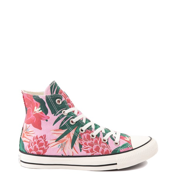 Converse Chuck Taylor All Star Hi Wild Florals Sneaker - Pink