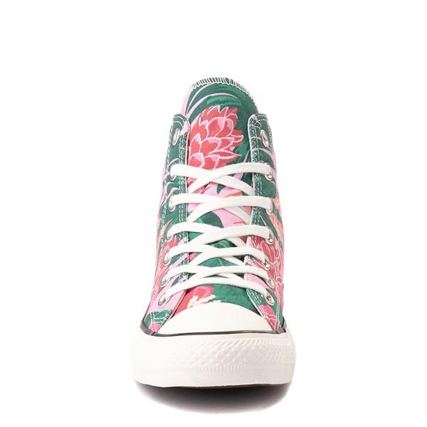 alternate view Converse Chuck Taylor All Star Hi Wild Florals Sneaker - PinkALT4
