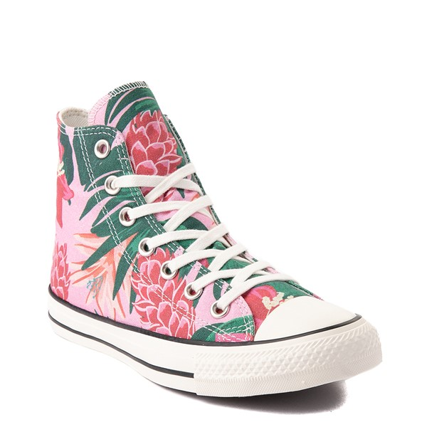 alternate view Converse Chuck Taylor All Star Hi Wild Florals Sneaker - PinkALT5
