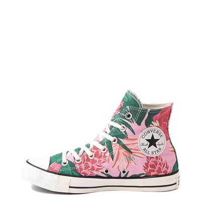 Alternate view of Converse Chuck Taylor All Star Hi Wild Florals Sneaker - Pink