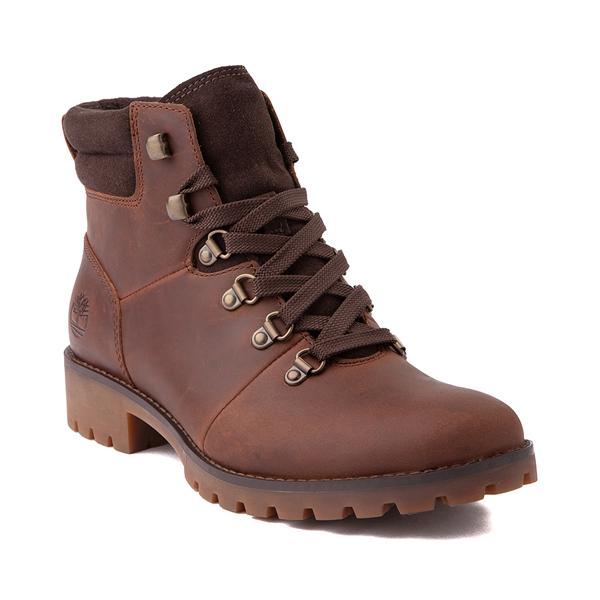 alternate view Womens Timberland Ellendale Hiker Boot - BrownALT5