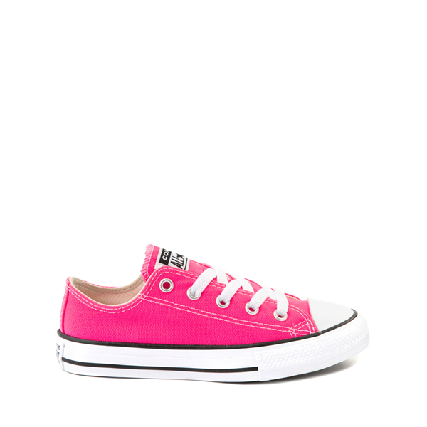 Main view of Converse Chuck Taylor All Star Lo Sneaker - Little Kid - Hyper Pink