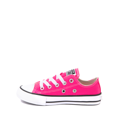 Alternate view of Converse Chuck Taylor All Star Lo Sneaker - Little Kid - Hyper Pink