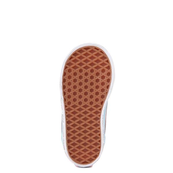 alternate view Vans x Where's Waldo Old Skool International Stripes Skate Shoe - Little Kid - White / RedALT3