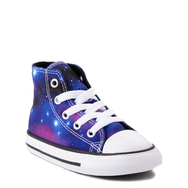 alternate view Converse Chuck Taylor All Star Hi Galaxy Sneaker - Baby / Toddler - MulticolorALT1B