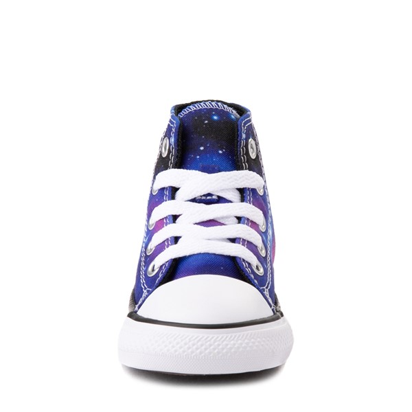 alternate view Converse Chuck Taylor All Star Hi Galaxy Sneaker - Baby / Toddler - MulticolorALT4