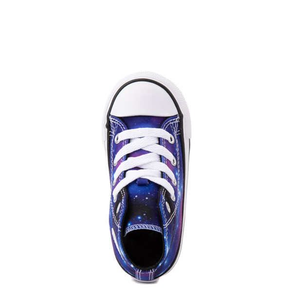 alternate view Converse Chuck Taylor All Star Hi Galaxy Sneaker - Baby / Toddler - MulticolorALT4B