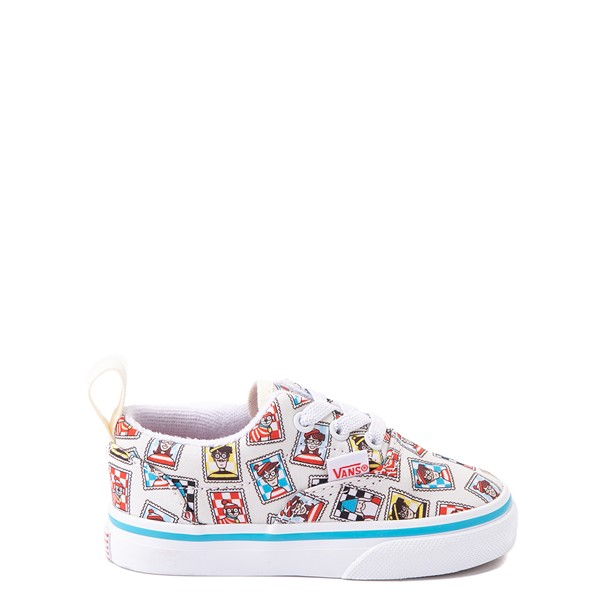 Vans x Where's Waldo Era Postage Skate Shoe - Baby / Toddler - White
