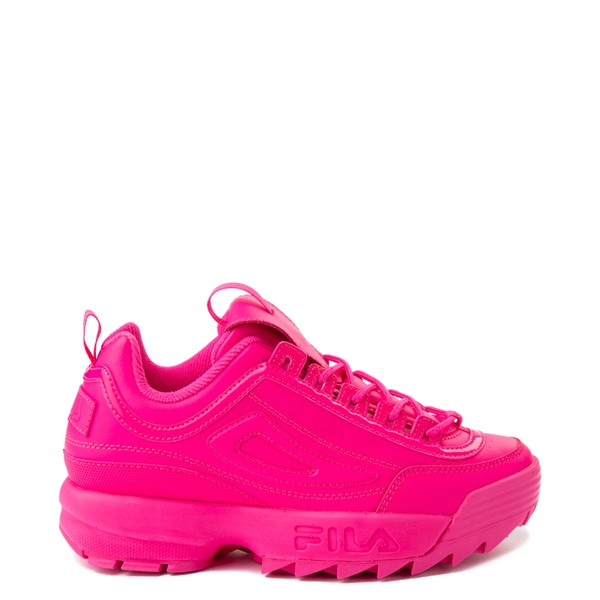 Main view of Womens Fila Disruptor 2 Athletic Shoe - Glow Pink Monochrome