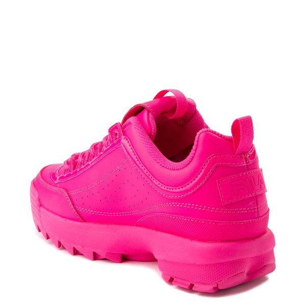 alternate view Womens Fila Disruptor 2 Athletic Shoe - Glow Pink MonochromeALT1