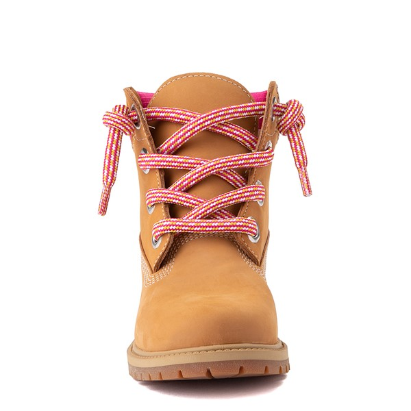 "alternate view Womens Timberland 6"" Premium Boot - Wheat / PinkALT4"
