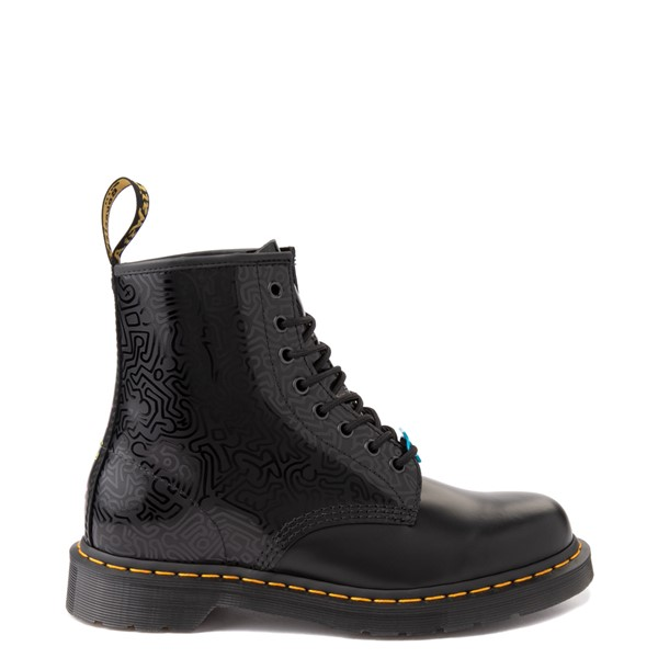 Main view of Dr. Martens x Keith Haring 1460 Boot - Black