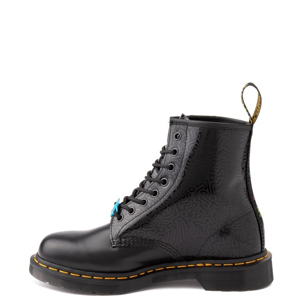 alternate view Dr. Martens x Keith Haring 1460 Boot - BlackALT1