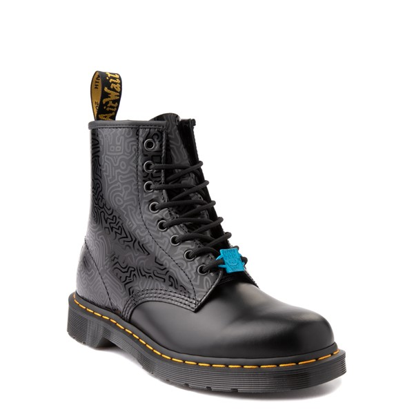 alternate view Dr. Martens x Keith Haring 1460 Boot - BlackALT5