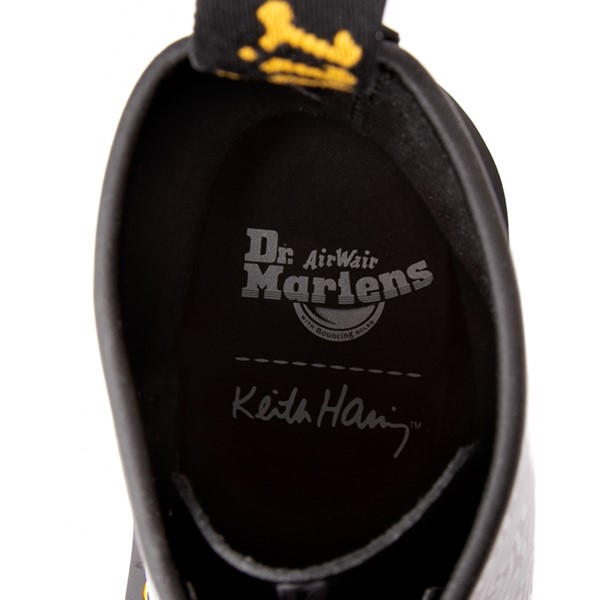 alternate view Dr. Martens x Keith Haring 1460 Boot - BlackALT5C