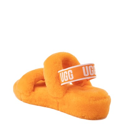 Alternate view of Womens UGG® Oh Yeah Slide Sandal - California Poppy