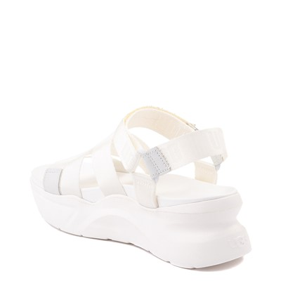Alternate view of Womens UGG® LA Shores Sandal - White
