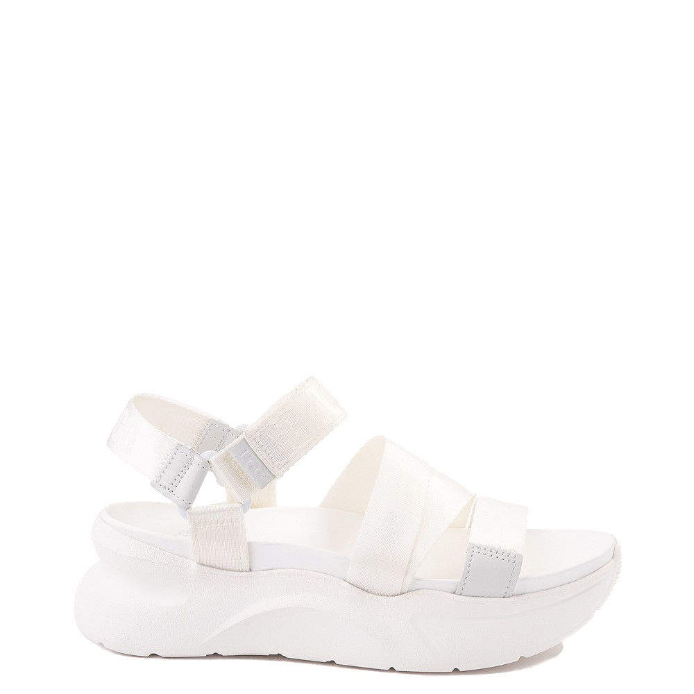 Womens UGG® LA Shores Sandal - White