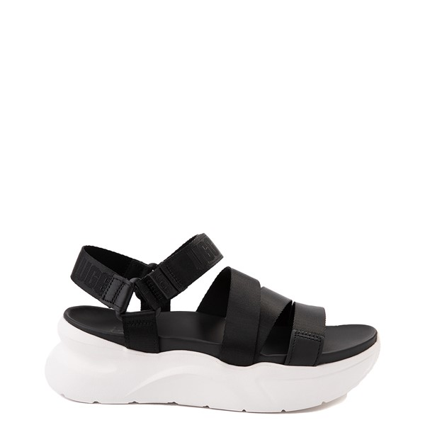 Main view of Womens UGG® LA Shores Sandal - Black